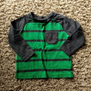 NWOT Okie Dokie Striped Long Sleeved T-shirt